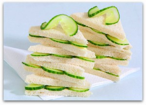 BJPAHA Cucumber sandwiches. Image shot 2008. Exact date unknown.